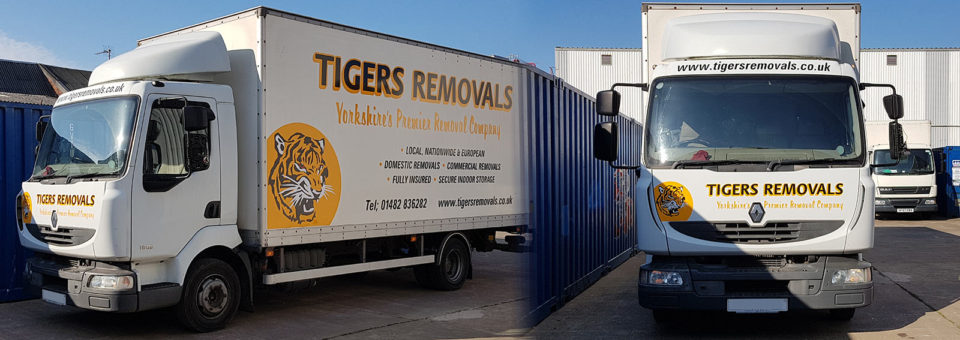 New addition to the Tigers Removals fleet